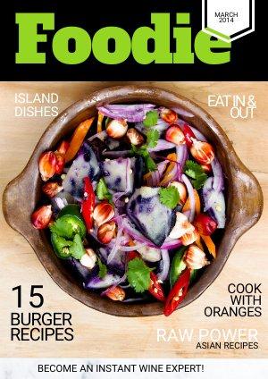 Cooking Magazine Cover Design