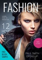Fashion Magazine Cover Design