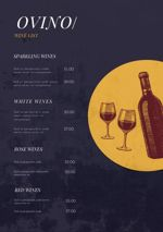 Wine Bar Menu Example