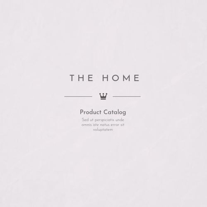 Design de Catálogo de Móveis Modernos
