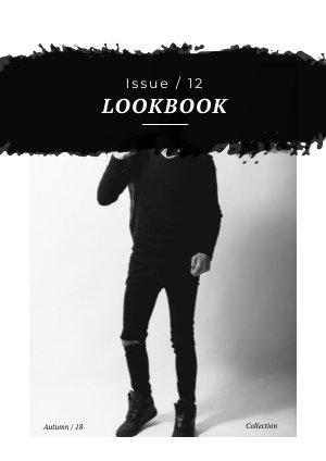 Design trendy per catalogo brochure di moda