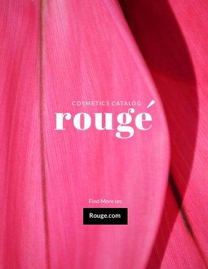 Design di catalogo brochure per prodotti cosmetici