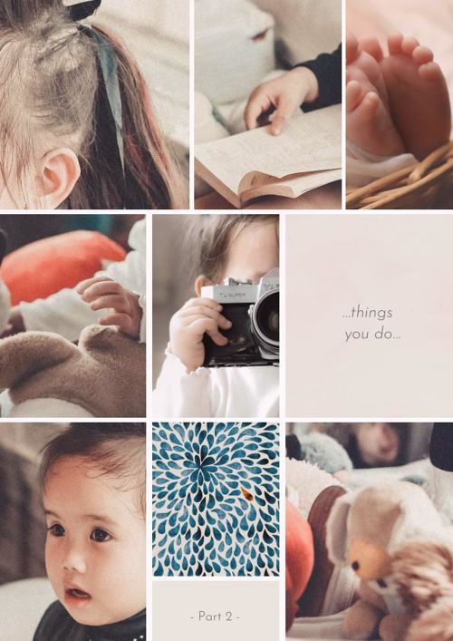 Adorable Baby Photo Album Design