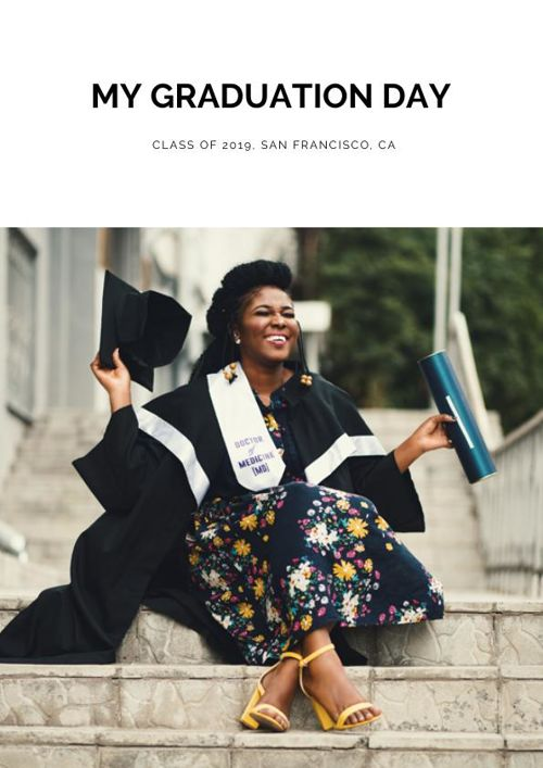 Graduation Photo Album Design
