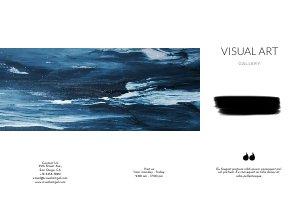 Art Gallery Brochure / Flyer Design
