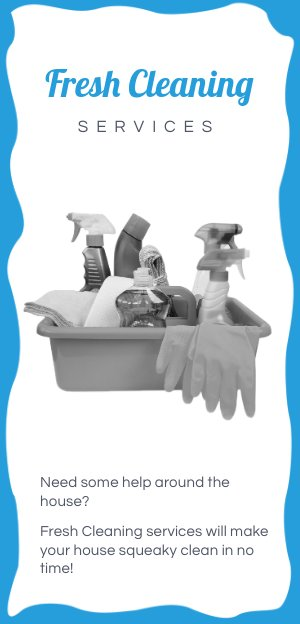 Cleaning Services Flyer Design