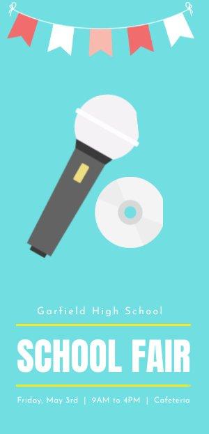 School Concert Program Flyer Example