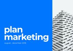 Blue Marketing Plan Presentation