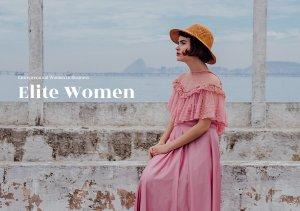 Modelo de Brochura de Mulheres Empreendedoras / Negócios