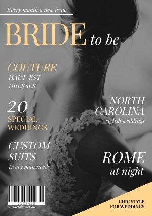 Modelo de Revista de Casamento Deslumbrante