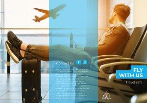 Travel Trifold Brochure Template & Design