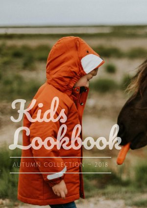 Kindermode lookbook Sjabloon