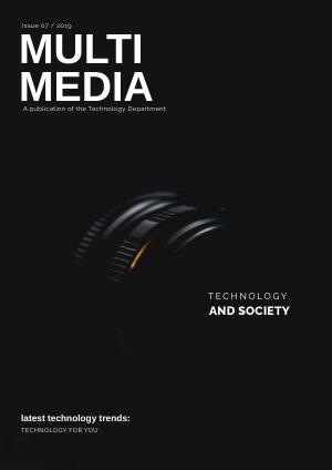 Plantilla para revista tecnológica