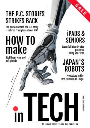 Plantilla para revista de alta tecnología