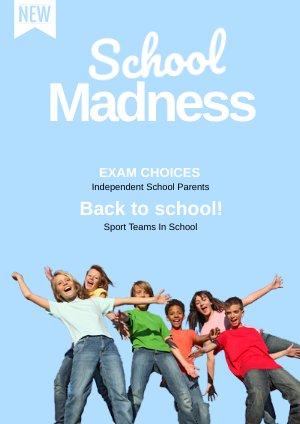 Modern Schoolbrochure Sjabloon