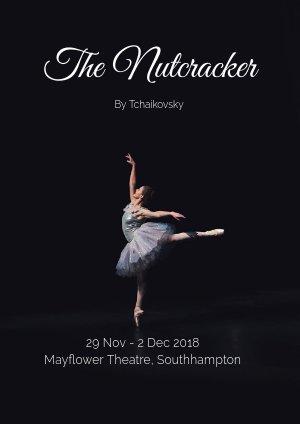 Ballet Dans Flyer Ontwerp