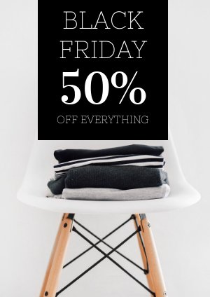 Black Friday Flyer Ontwerp