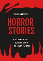 Scary Campfire Stories Flyer Design