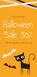 Halloween Sale Flyer Example