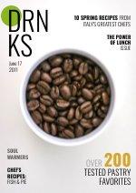 Design für eine Lebensmittelzeitschrift