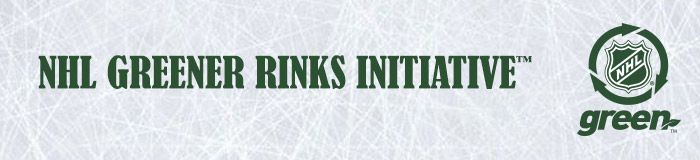 NHL Greener Rinks Initiative