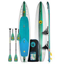 Body Glove Cruiser Duet Inflatable 2-Person Paddle Board and Kayak Combo
