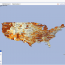 GeoFRED® 2007: Unemployment Rate by County (Fractile)