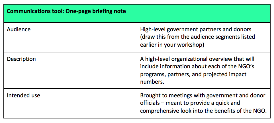 A Free Guide On How To Create A Communications Plan For Your NGO - Nonprofit communications calendar template