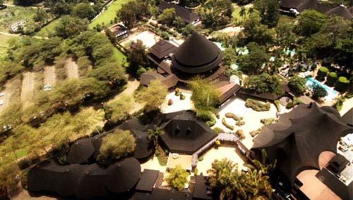 Safari Park Hotel Birds Eye