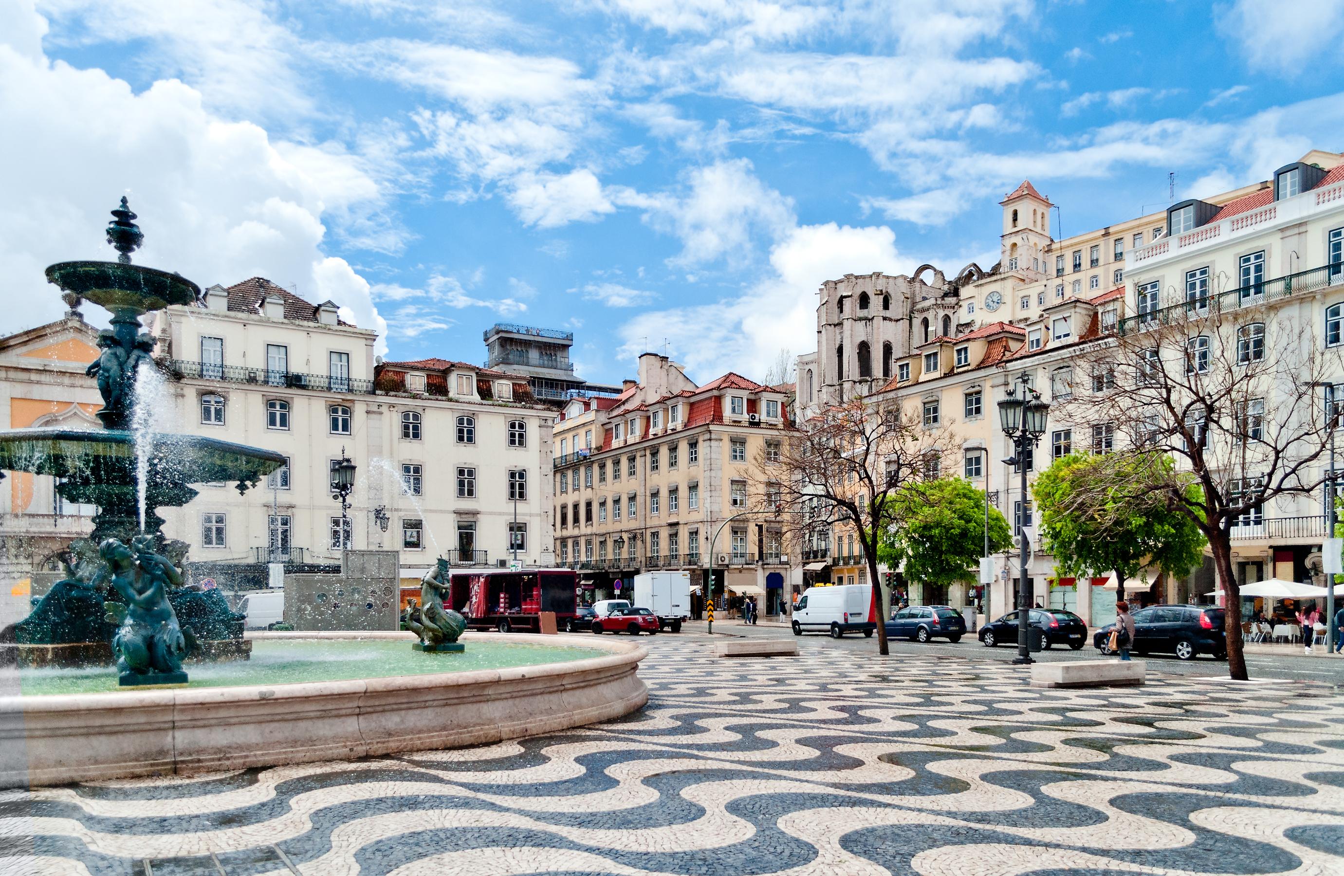 Portugal - Rossio Square