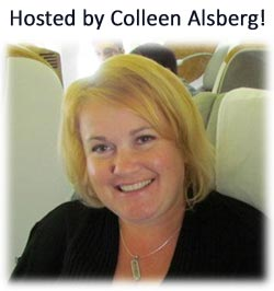 Colleen Alsberg Hosted Vacation