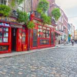 ireland pub - editorial only