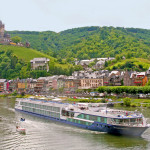 Avalon Affinity; Moselle River; Germany; River Cruise; River Cruising; exterior; castle; town; architecture; vineyard; Cochem