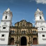 Catholich Cathedral in Plaza Mayor, Casco Viejo