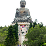 Giant Buddha on Lantau Island 1
