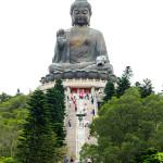 Giant Buddha on Lantau Island 1