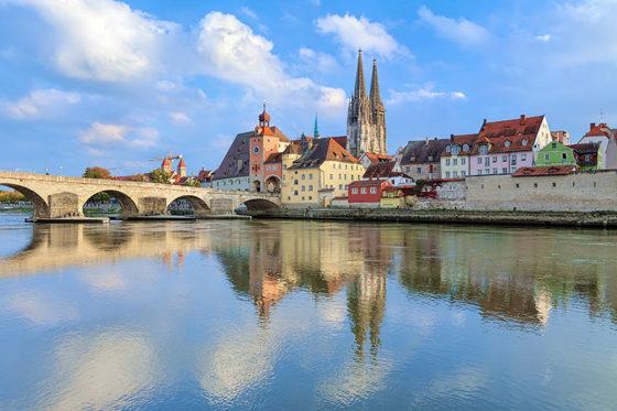 Regensburg - The Danube