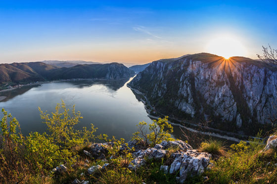 Romanian Danube River Gorge