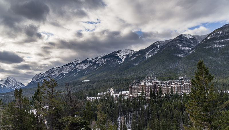 Haunted Destinations - Fairmont Banff Springs Hotel