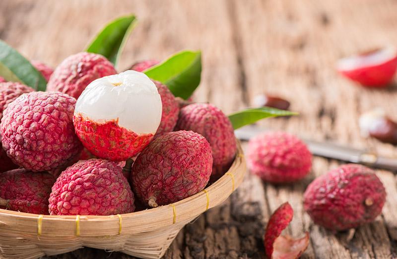 Exotic Fruits in Vietnam & Cambodia - lychee