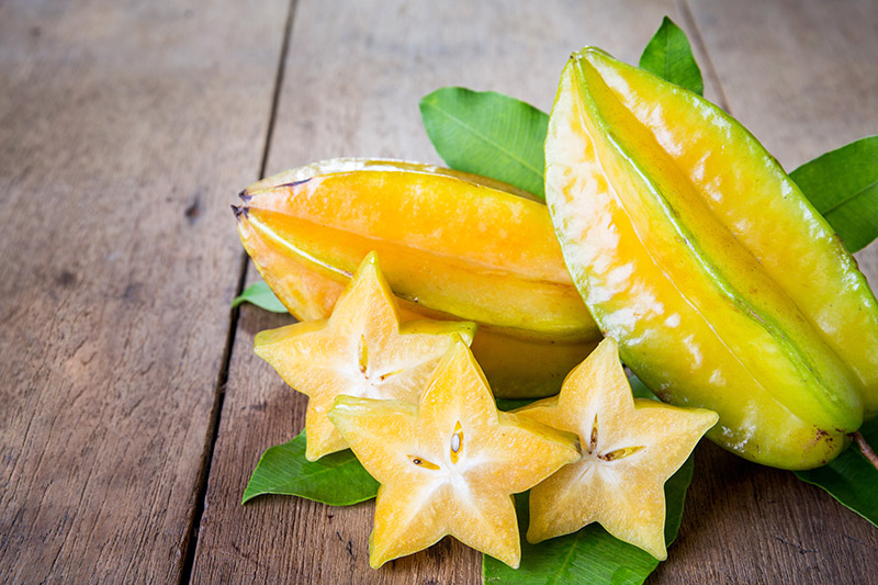 Exotic Fruits in Vietnam & Cambodia - star fruit