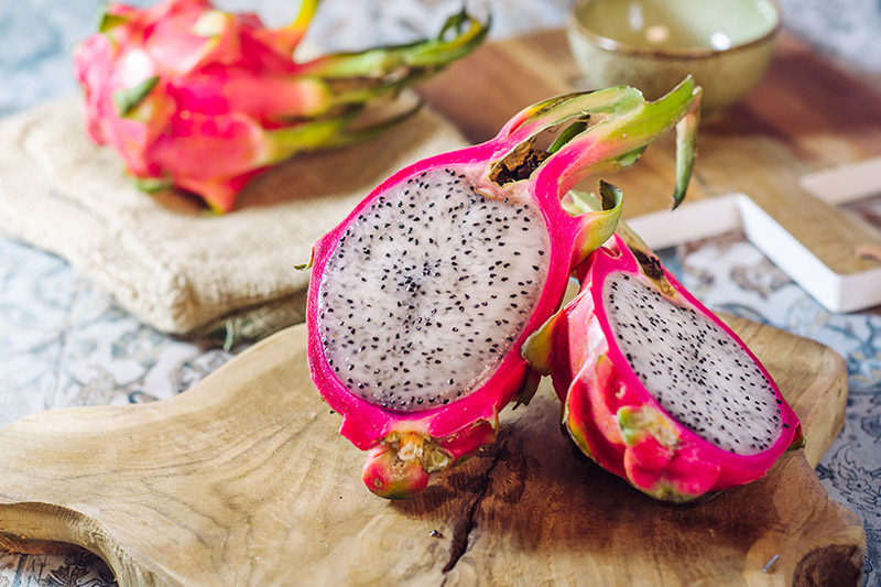 Exotic Fruits in Vietnam & Cambodia - dragonfruit