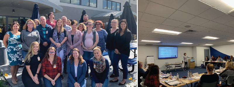 corporate travel training class from 2019