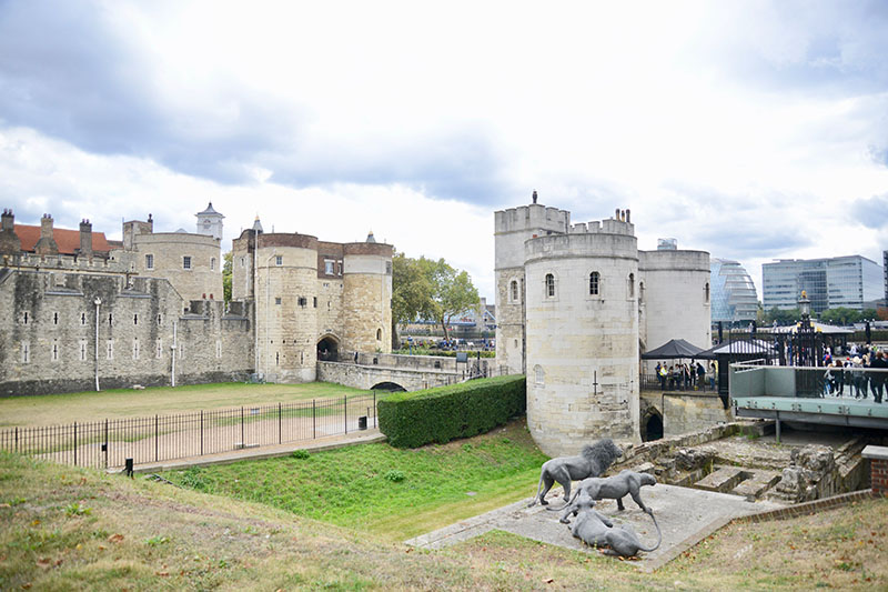 Tower of London in Europe