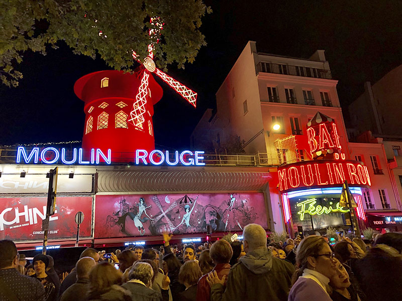 Moulin Rouge in Europe