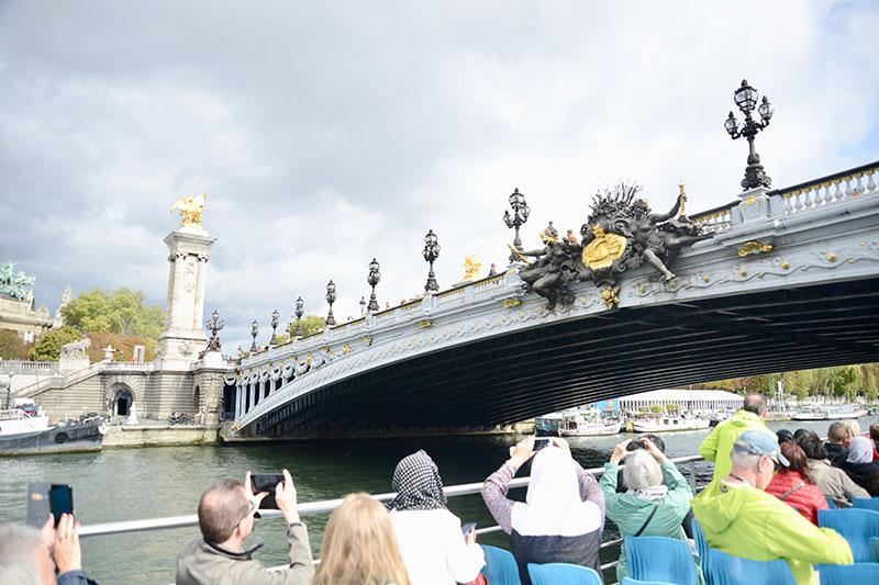 The River Seine in Europe