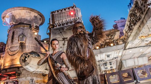 Welcome to Star Wars: Galaxy's Edge