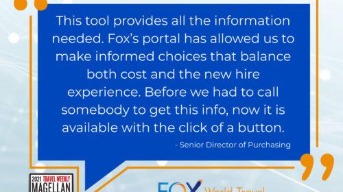 Fox Awarded 2021 Magellan Award for Custom Technology Innovations