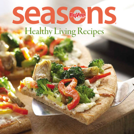 GDM designed a series of cookbooks for Hy-Vee Seasons.