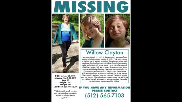 San Antonio mom searching for missing teen daughter